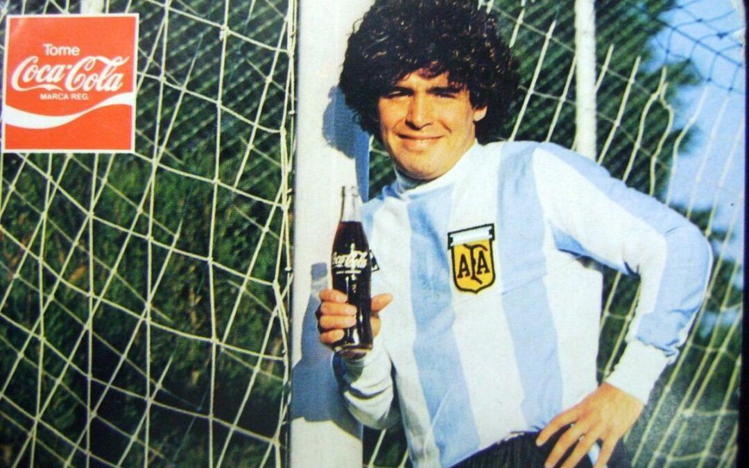 Maradona: 10 publicidades y acciones de marca con el 10