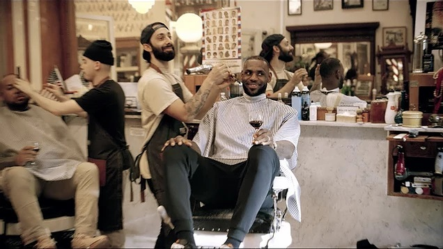 «The shop» el programa de TV de Lebron James.