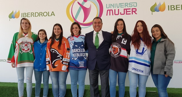 IBERDROLA apoya con patrocinio el deporte femenino