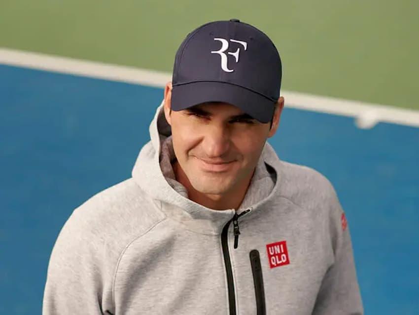 Roger Federer recupera su logo `RF` para una nueva línea de gorras con Uniqlo