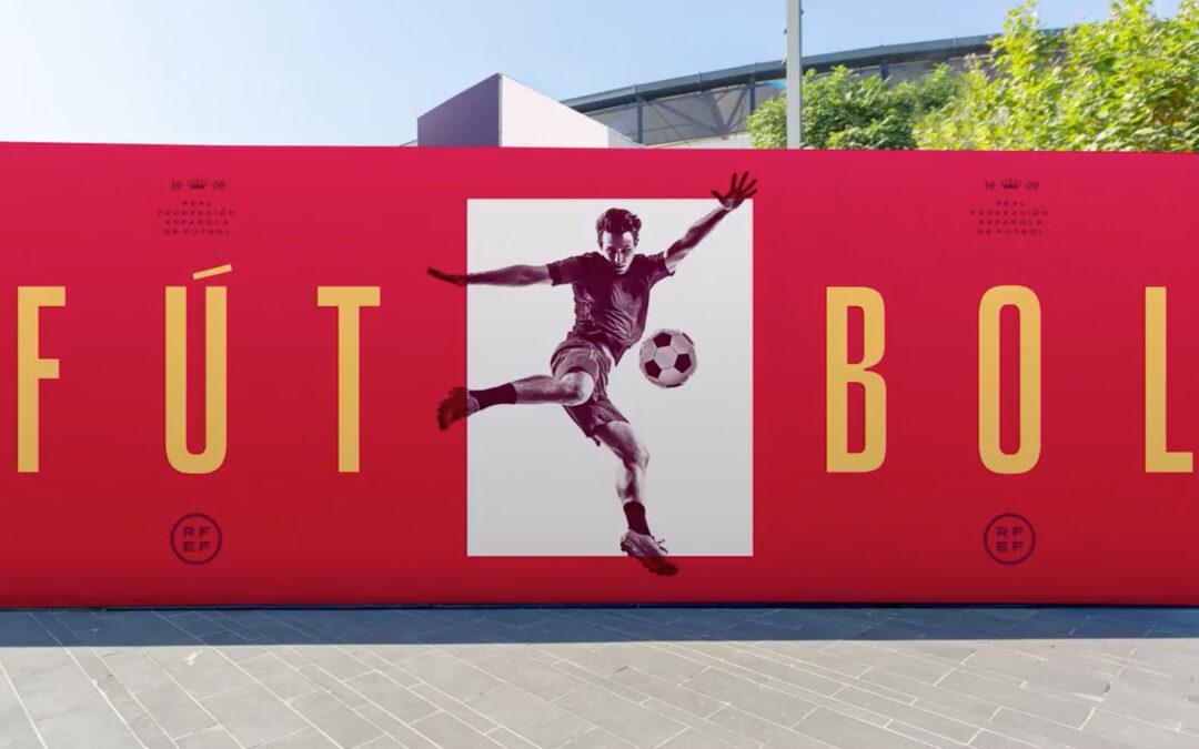 Branding para la Real Federación Española de Fútbol RFEF